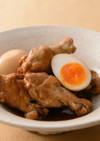 鶏手羽元とゆで卵の甘酢煮