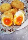 半熟とろとろ卵の卵フライ