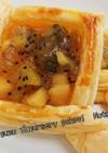 キウイアップルパイ(冷凍パイシート使用)