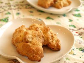 ウマっ☆玄米フレークとナッツのクッキー