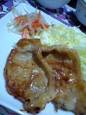 豚肉の味噌漬け(・⑩・^)