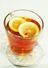 紅茶レモン♪風邪&インフルエンザ予防に◎