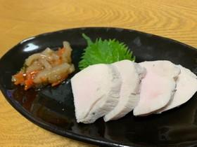 冷凍&切り方がコツ☆簡単超柔らか鶏ハム♪