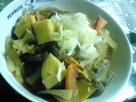根菜のホックリ味噌煮