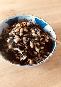 定番ひじきと大豆の煮物