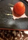 簡単冷凍苺チョコアイスでバレンタインデー