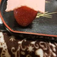 簡単苺生スライスチョコレートバレンタイン