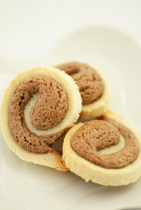 簡単★渦巻きクッキー