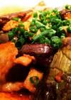 茄子と豚肉の味噌炒め
