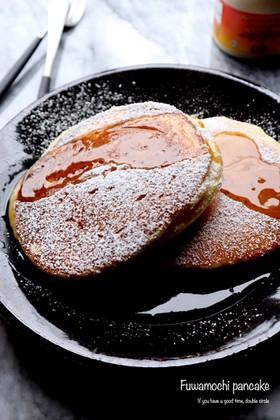 切り餅で作る!ふわもちパンケーキ♡