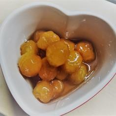 とろ~り金柑の甘露煮☆