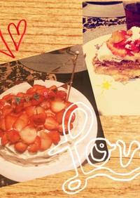 簡単 炊飯器イチゴチーズケーキ