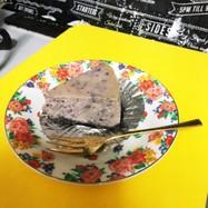 ブルベリーチーズケーキ☆とろけるチーズで
