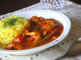 ■サバと野菜の健康カレー■