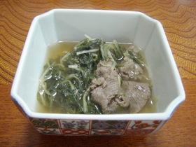 京都のおばんざい☆牛肉と水菜の炊いたん