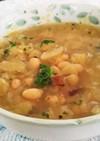 ⅲ白インゲン豆とキャベツのスープ