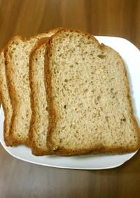 時短!チアシードで膨らむ大豆粉くるみパン