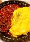美味しい!ふわとろ卵のオムハヤシライス♡