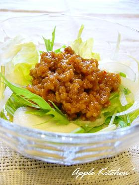 ■ピリ辛肉味噌サラダ■
