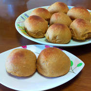 黒糖きな粉ご飯ミルクパン(HB使用)