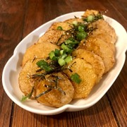 簡単♡長芋のオイバター醤油焼きの写真