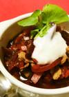 ビーツと大根のボルシチ風赤いスープ