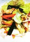 なすと豚肉の辛味噌炒め(小学校のレシピ)