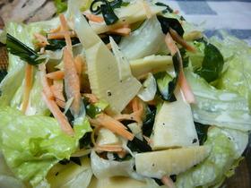 ☆簡単 筍のサラダ☆