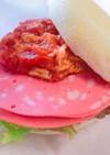 朝食に!ツナトマトのビアソーセージサンド