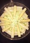 残った数の子のクリームサラダ