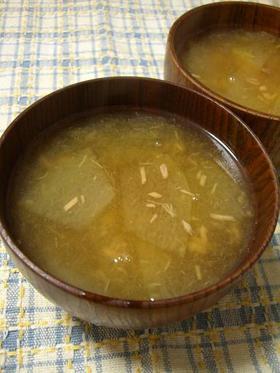 代々伝わる冬瓜汁 ツナ缶で簡単ver