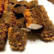 ササミ肉の海苔フライ