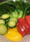 中華鍋で温野菜