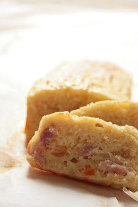 食事パウンドケーキ:ベーコンオニオン