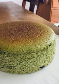抹茶スフレチーズケーキ