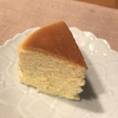 12〜15センチ型スフレチーズケーキ