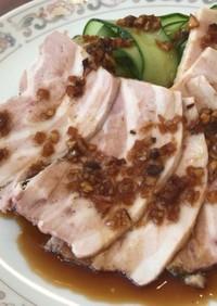 ヨーグルティアで作る柔らか豚ハム