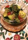 アボカド&トマト&きゅうりのキヌアサラダ