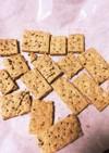 1歳児のゴマきな粉クッキー