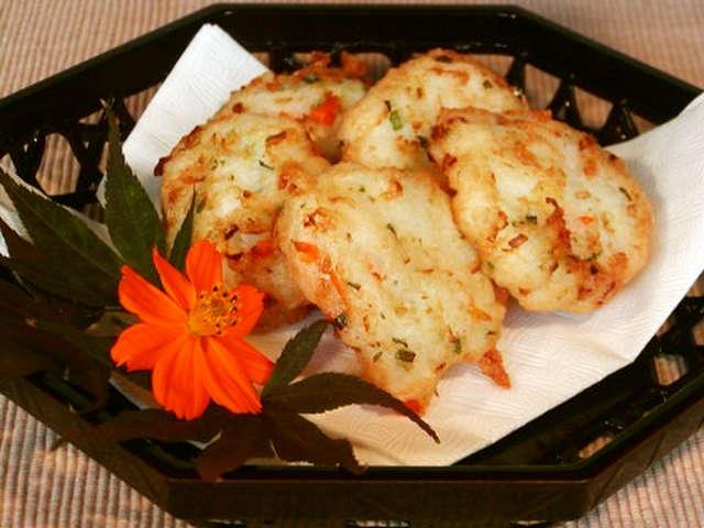 簡単ふわふわ!大和芋の天ぷら