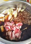 豚肉で簡単美味しい☆ゴボウ入り好き煮