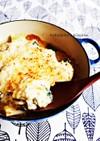牡蠣と深谷葱の酒粕豆腐ソースのグラタン