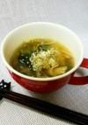 簡単過ぎる、えのきと小松菜の中華スープ。