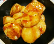 長芋の甘辛焼き♪の写真