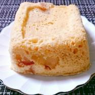 リンゴとクリームチーズのおから蒸しパン