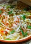 レンチン土鍋モヤシスープ