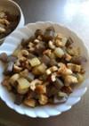簡単、ちくわコンニャク大根のカツオ煮。
