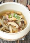 糖質制限★きのこと豆のスパイシースープ