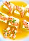 海老香る出汁のあんかけ豆腐