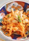 大豆と人参の味噌マヨ和え